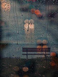 rainy at the beach...