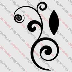 Pegame.es Online Decals Shop  #decoration #ornamental #motif #floral #vinyl #sticker #pegatina #vinilo #stencil #decal
