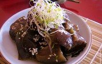 Chilled Teriyaki Soaked Eggplants Recipe