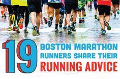 19 Boston Marathon Runners Share Their Running Advice