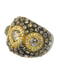 Atelier Minyon - Gold and Brown Diamond Ring