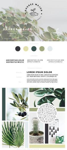 standard branding package / custom brand design / logo, brand design / modern clean typography / business photography shop boutique blog