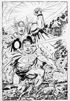 Thor and Superman by John Byrne *
