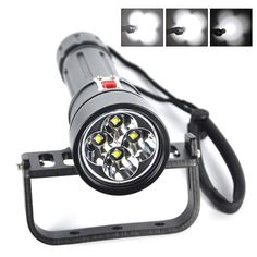 Xm L2 Professional Diving Equipment Underwater 120m Photo Fill Light Scuba Flashlights 26650 Waterproof Led Torch Lampe Torche Bright Luster Led Lighting