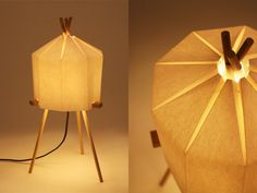 Milk Design – Paper Lamp at Sub-Studio