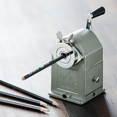 old school mechanical sharpener
