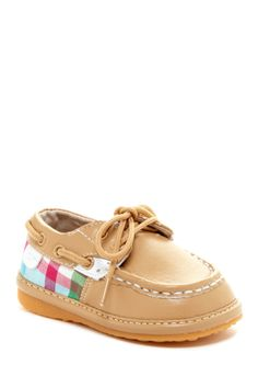 Plaid Baby Boat Shoe