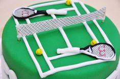 #Tarta campo de #tenis