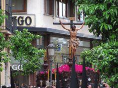 Semana Santa procession in Malaga