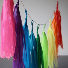 Pearl and Earl - Tassel Garland Inspirations from the super funky Crystal Vintage shop in a converted horsebox featured on George Clarke's Amazing Spaces. http://mycoolhomepage.com/chloes-tips-on-buying-vintage-clothing-owner-of-the-amazing-spaces-horsebox/