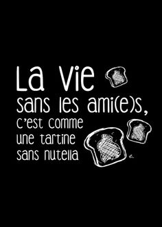 Sad Quotes, Words Quotes, Inspirational Quotes, Take A Smile, French Quotes, Visual Statements, Positive Vibes, Nutella, Bff