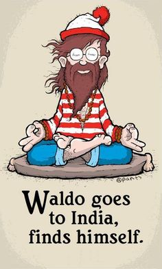 Waldo's got a beard!!!! www.beardbalm.us LOL