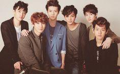 EXO - EXO K -   D.O; Chanyeol; Sehun; Kai; Suho; Baekhyun. <3