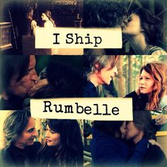 'I ship RumBelle' - via a-rumbelle-love-story on Tumblr