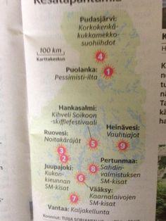Suomen erikoisimmat kesätapahtumat päivän @hsfi - mihin ajattelit osallistua?