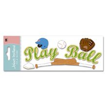 Play Ball Title Stickers - Jolees Boutique