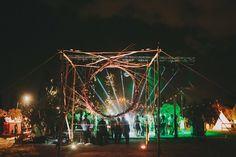 A Greek party! | Boho Jewish wedding with a Greek party and midnight bonfire | Smashing the Glass Jewish wedding blog
