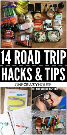 Travel hacks and tips. Save your sanity with thee 14 road trip hacks and tips. Road Trip With Kids, Family Road Trips, Family Travel, Pack For Road Trip, Road Trip Food, Road Trip Usa, Road Trip Tips, Road Trip Healthy Snacks, Road Trip Meals