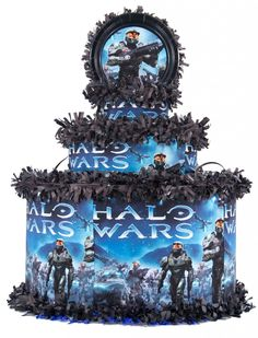 halo 4 party supplies for kids | Halo Wars Personalized Pinata