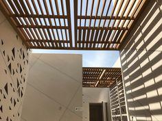 La elevada resistencia del Tecnodeck a la intemperie lo convierte en un material ideal par el uso en pérgolas y parasoles exteriores. Ecológico y sostenible. Stairs, Exterior, Home Decor, Stairway, Decoration Home, Room Decor, Staircases, Outdoor Rooms, Home Interior Design