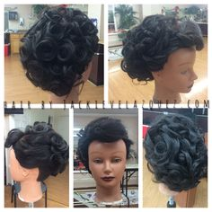Formal hairstyle/ updo