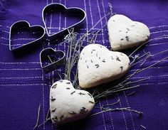 Lavender Heart Scones Recipe | Yummly