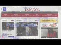 Practica Español : to practice and learn spanish language with the news of Agencia EFE Spanish Phrases, Spanish Words, How To Speak Spanish, Learn Spanish, Spanish Teacher, Spanish Classroom, Spanish Language Learning, Teaching Spanish, A Level Spanish