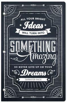 dana tanamachi inspired to share - chalkboard art   Advertising ...