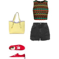 Untitled #57 by emma1012 on Polyvore featuring polyvore, fashion, style, H&M, Topshop and Vans