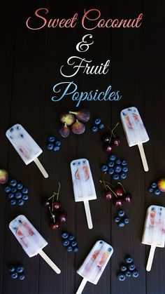 'Like' to vote for @kholt's 4th of July sweet coconut and fruit popsicles! See the recipe here: http://www.figsandcream.com/sweet-coconut-and-fruit-popsicles/ #HSPinParty