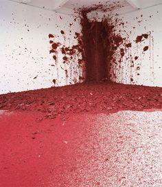 Аниш Капур. Shooting into the Corner / Стреляя в Угол, 2008-2009