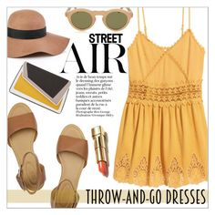 """""""Easy Peasy: Throw-and-Go Dresses"""" by that-chic-girl ❤ liked on Polyvore featuring H&M, Reiss, See by Chloé, CÉLINE, âme moi, easypeasy and polyvorecontest"""