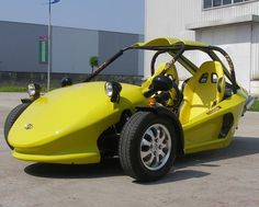 I've been fascinated by reverse trikes for a long time. As young teens, my older brother and I made a reverse trike go-kart (he designed the frame and the drivetrain, I did the brakes and steering) because we didn't have the money for a proper live axle setup in the back. The first hard turn …