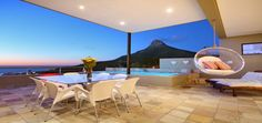 A dip in your own pool with Lions Head in the background, Cape Town, Camps Bay Camps Bay Cape Town, Restaurants, Location Villa, Cape Town South Africa, Belle Villa, Luxury Villa, Perfect Place, Condo, Camping