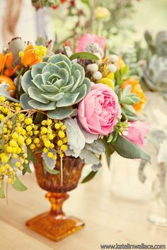The Design Series; Succulent Receptions