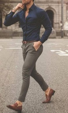 Business Casual for Men Attire ! Blazer Outfits Men, Mens Fashion Blazer, Outfits Casual, Stylish Mens Outfits, Mode Outfits, Denim Fashion, Fashion Fashion, Fashion Shoes, Trendy Mens Fashion