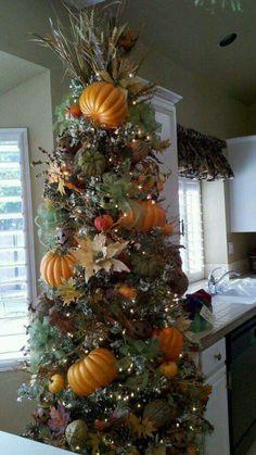 Fall Harvest Tree