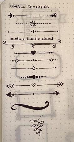 Inspirações para o seu Bullet Journal - Depois da moderação