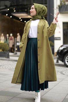 Long Skirt Fashion, Modest Fashion Hijab, Modern Hijab Fashion, Street Hijab Fashion, Muslim Women Fashion, Hijab Fashion Inspiration, Fashion Mode, Hijab Fashionista, Winter Fashion Outfits