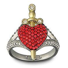Heart Sword by Swaroski, love it !