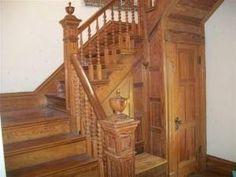 Inside the old Skidmore home
