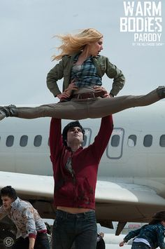 R and Julie in Warm Bodies Hillywood Show