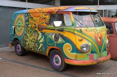 All Seeing Eye VW Bus