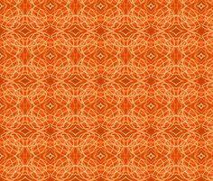 Orange Stuff fabric by eelkat on Spoonflower - custom fabric