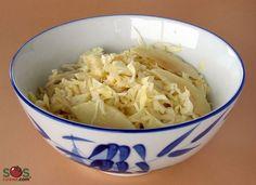 Recette - Salade de chou et pommes | SOS Cuisine