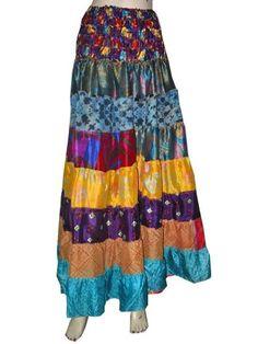 Bohemian Gypsy Sari Patch Causal Beach Dress Boho Skirt for Women mogulinterior,http://www.amazon.com/dp/B00EE3CJ8U/ref=cm_sw_r_pi_dp_hmfbsb0C8P54T8EG