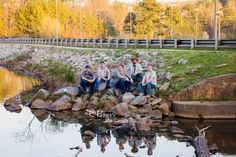 Posing Band Members, 5 guys in a band, Lake, Atlanta GA, Band The Rays, Gainsborough Pool Band, 2016, Kristin Boyer, K Boyer Photography, Event Photographer, Headshots, Band Photography, Murphey Candler Park, Brookhaven, GA