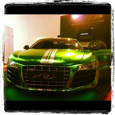 If the incredible Hulk was a car... :) Seen at Qatar Motor Show.