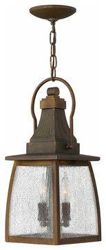 Montauk Exterior Lantern Pendant Light traditional outdoor lighting