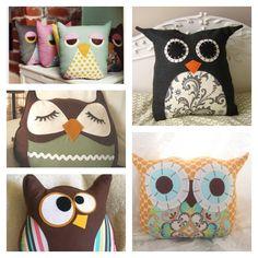 Adorable DIY Owl Pillow Tutorial